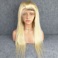 613 Blonde Lace Front Wig Pre Pluck Natural Hairline Brazili...