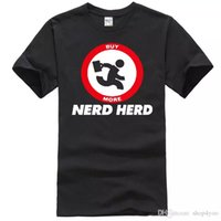 CHUCK NERD HERD Commedia Movie Film T-Shirt Tee Shirt Mens 2018 New Tee Shirts Stampa Fashion Manica corta Vendita 100% Cotone