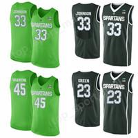 Michigan State Spartans Basketball 22 Miles Bridges 44 Nick Ward Jersey  College 1 Joshua Langford 5 Cassius Winston 2 Jaren Jackson Jr b8d21d200
