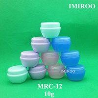 50sets 10g Small mushroom Cosmetic Bottles Small Plastic Con...