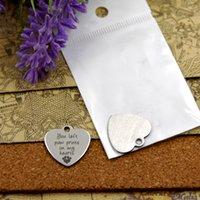 40шт - «ты оставил отпечатки лап в моем сердце» прелесть нержавеющей стали больше стиля для выбора DIY очаровывает подвески для ожерелья