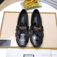 New Handmade Designer Vintage Fashion Luxury Casual Wedding Party Marchio di scarpe di cuoio genuino Mens Monk Dress Shoes