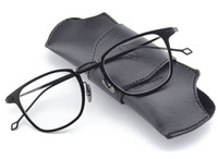 2018 디자이너 남자 스퀘어 100 % 순수 티타늄 매우 가벼운 안경 안경 프레임 맑은 광학적 인 근시 독서 안경 oculos de grau