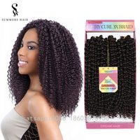 "3Pieces Per Pack 10"" Synthetic Water Wave Crochet Craid..."