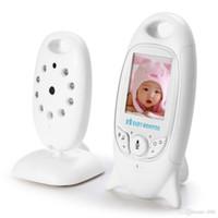 Babyphone sans fil Radio Baby Vitter VB601 2,4 GHz Moniteur vidéo numérique pour bébé avec affichage de la température de la musique de nuit Radio Babysitter + B