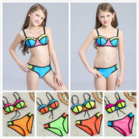 Girls Summer Sexy Two- piece Bikini Beach Swimwear Fashion Su...