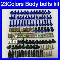 boulons Carénage kit de vis complet pour Aprilia RS4 125 RS125 06 07 08 09 10 11 RS 125 2006 2007 2008 2011 Kit boulon écrou vis Nuts Body 23Colors