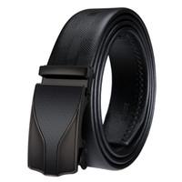 Cinturones diseñador de la correa para hombre hebilla automática negocio Ceinture lujo cinturones de cuero genuino para los hombres cinturón de cintura envío DK-2012