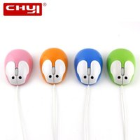 CHYI Cartoon Wired Mouse Lovely Animal Dolphin Rabbit Optica...