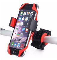 Fahrrad-Fahrrad-Motorrad-Lenkerhalter-Halter-Telefon-Halter mit Silikon-Support-Band für Iphone X 8 7 Samsung XIAOMI GPS Universal-