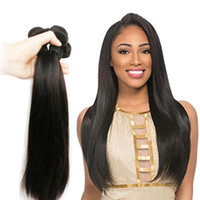 Malaysian Straight Human Hair Bundles Can Mix Wholesale Chea...