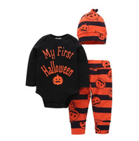 Newborn Babys kids clothing Christmas hollowen Christmas Out...