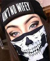 Скелет призрак череп маска для лица байкер Балаклава костюм Хэллоуин косплей партии опора дух фестиваль декор подарок