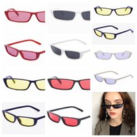 fashion Narrow Frame Sunglasses Slim Sun Eyeglasses sailboat...