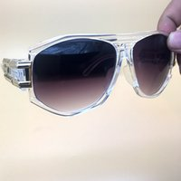 abdf6369642f Diseñador Gradient Sunglasses Brand Glasses Outdoor Shades PC Farme Moda  gafas Niñas luxury Sun glasses Espejos