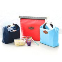 Fashion Cooler Bag Folding Insulation Large Meal Package Lun...