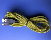 3 M 10ft Pleciony Ładowarka Kabel Ładowarka High Speed USB 2.0 Kabel zasilający dla 2DS 3DS 3DSLL New 3DSLL 3DSXL DSI Wysokiej jakości szybki statek