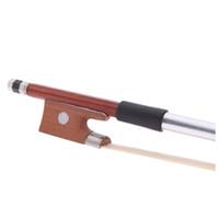 1/2 tonnelle violon archet violon crin de cheval Accessoires de violon exquis