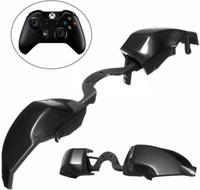 Yedek LB RB Düğme anahtar Tamponlar Tetikleyiciler Anahtarı Xbox One E Elite Denetleyicisi için Katı Siyah Plastik Düğmeler Onarım Parçaları ÜCRETSIZ NAKLIYE