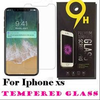 For iPhone XS Max 6. 5inch XR Tempered Glass iPhone X 8 Scree...