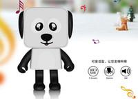 Altavoz Bluetooth que puede bailar juguetes educativos de la moda del estilo del perro para niños y ancianos