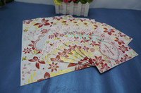 100pcs lot, 10x15cm Self- standing red flower printing plasti...