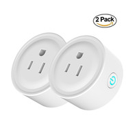 Smart Wifi Plug Outlet Dual 10A US Plug Adapters с дистанционным управлением APP Mini Socket Интеллектуальное устройство, совместимое с Alexa Better Sonoff