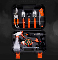 أدوات حديقة مجموعة أدوات الأجهزة الرئيسية حديقة الغراء بندقية مجرفة مقص مزيج زهرة أدوات 10 أجزاء مجموعة بالجملة