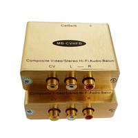 RCA AV için cat5 Analog ses video cat5 Stereo AV rj45 Dönüştürücü AV adaptörü