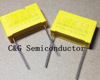 10 unids 1uF / 275VAC K 1uf 105 275V AC X2 condensador de seguridad de polipropileno