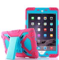 애플 ipad 6 / ipad 공기 2 Pepkoo 스파이더 케이스 군용 헤비 듀티 방수 먼지 / 충격 증명 태블릿 케이스