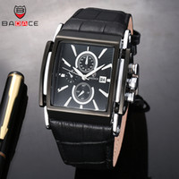 BADACE 2018 Fashion Men Watch Leather Straps Quartz Watches ...
