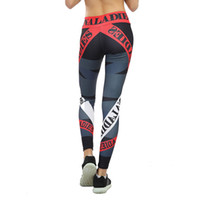 New Print Sporting Leggings Women Fitness High Elastic Skinn...