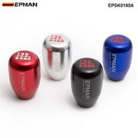 EPMAN Yarış Evrensel Araba Manuel Vites Topuzu Dişli Vites Değiştirme Kolu Alüminyum Kolu 6 Hız EPSK019S6