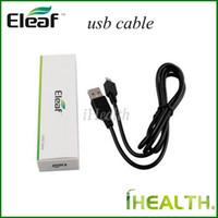 100٪ أصيلة eleaf iStick شاحن كابل usb ل eleaf iStick 20 واط 30 واط 40 واط 50 واط مصغرة 10 واط بطارية mod dhl سريع مجاني