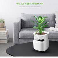 Sitio portátil Ozone Mi Purificador de aire para el hogar Limpiador de aire esterilizador Maceta Anión Ionizador Generador Desinfección Bacteria Aromaterapia