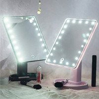 360 Degrees Rotation Makeup Mirror Adjustable 16 22 Leds LED...