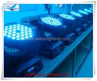 A- 2 / lot CER und RoHs ProLyre 36x10w führten bewegliches Hauptwäschelicht RGBW DMX512 rgbw geführtes Wäschelicht