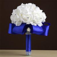 Ucuz Düğün Gelin Buketleri El Yapımı Çiçekler Yapay Gül Düğün Malzemeleri Gelin Holding Çiçekler Broş Buket CPA1549