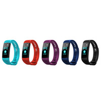 Y5 Smart Band Watch Color Screen Wristband Heart Rate Activi...