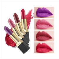 8 Color Lipstick Waterproof Matte Fashion Long Lasting Lip S...