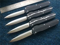 Cypher D A Custom Nemesis knives D2 steel Satin Drop point D...