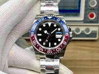 Luxury Sapphire Watches GMT II 904L Steel eta2836 116719 40m...