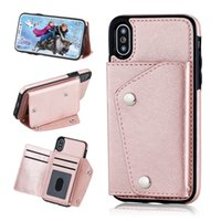 New style Fashion PU Leather wallet phone case for iPhone X ...