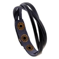 whole saleNew Leather Bangles women fashion Jewelry for ladi...