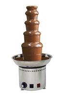 Gute Qualität mit CER 5 Tier-Schokoladen-Brunnen-Maschine für kommerziellen Gebrauch