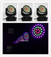 4 adet led yıkama 36x18 DMX lir led kafa zoom 6in1 hareketli kafa ışıklar hareketli yıkama