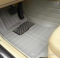Tapis de sol sur mesure pour voiture, accessoires de cuir, accessoires de cuir, moquettes (2007-