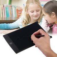 "8.5 ""LCD nero eWriter Tablet Writting Drawing Pad Memo Message Board Notepad Stilo con penna di plastica 2017 Nuovo arrivo"