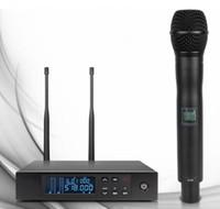Sahne için en kaliteli QLXD24 !! Gerçek Çeşitlilik UHF Profesyonel Kablosuz Mikrofon Sistemi QLXD2 QLXD4 606-630 MHz / 740 -765 MHz !!